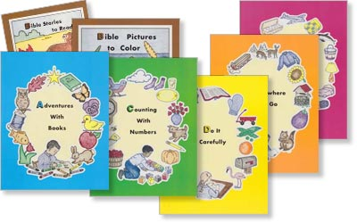 Preschool - Set of 7 ABC Series