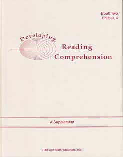 Developing Reading Comprehension: Units 3,4
