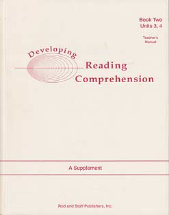 Developing Reading Comprehension: Units 3,4 Tea. Ed.