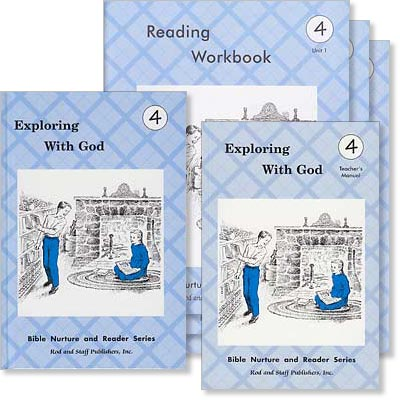 "Grade 4 Reading ""Exploring With God"" Set"