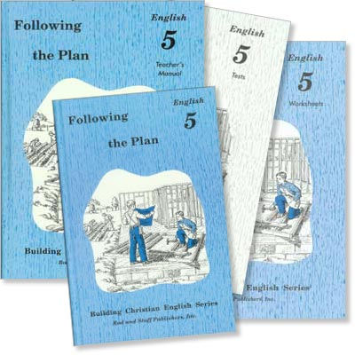 "Grade 5 English ""Following the Plan"" Set"