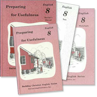 "Grade 8 English ""Preparing for Usefulness"" Set"