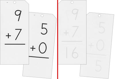 Math Flash Cards - Addition