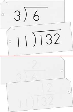 Math Flash Cards - Division