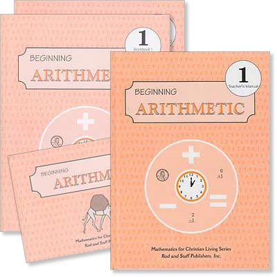 "Grade 1 Math ""Beginning Arithmetic"" Set [3rd Ed]"