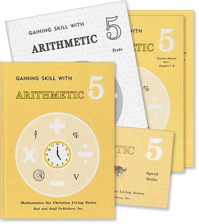 "Grade 5 Math ""Gaining Skill with Arithmetic"" Set"