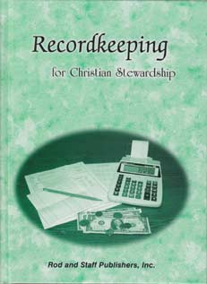 Recordkeeping for Christian Stewardship - Pupil Textbook
