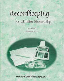 Recordkeeping for Christian Stewardship - Workbook 2