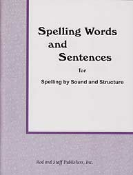 Spelling Words and Sentences