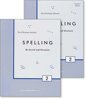 "Grade 2 Spelling ""Spelling by Sound and Structure"" Set"