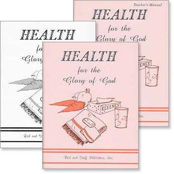 "Grade 4 or 5 Health ""Health for the Glory of God"" Set"