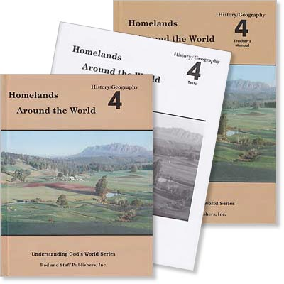 "Grade 4 History/Geography ""Homelands Around the World"" Set"