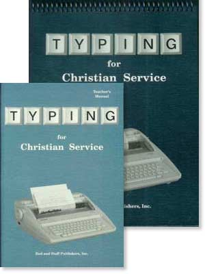 """Typing for Christian Service"" Set"