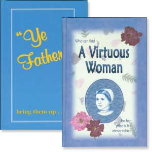 "Set of ""Ye Fathers"" and ""A Virtuous Woman"""