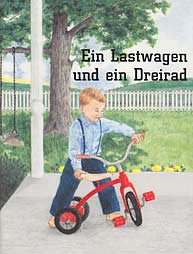 German - Ein Lastwagen und ein Dreirad [LJB - A Truck and a Tricycle]