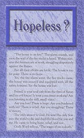 Tract [A] - Hopeless?