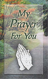 Tract [A] - My Prayer for You