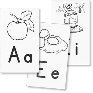 Grade 1 BSR - Alphabet Picture Wall Cards