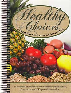 Healthy Choices - cookbook