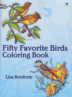 DISCOUNT - A - Fifty Favorite Birds - Coloring Book