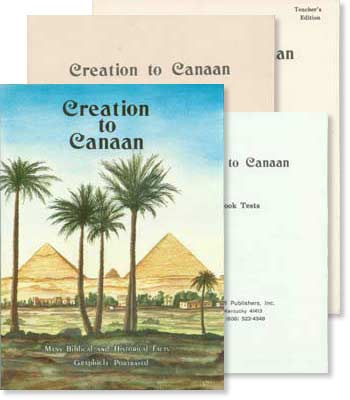 "Bible History ""Creation to Canaan"" Set"