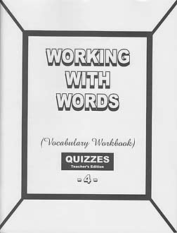 Grade 4 Pathway Vocabulary Quizzes Answer Key