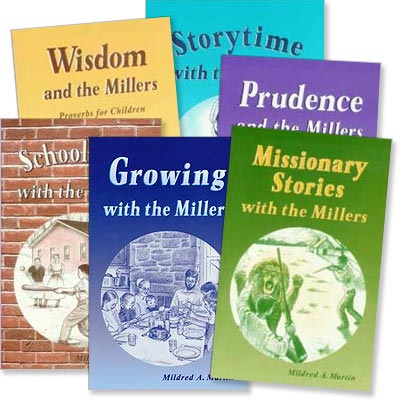 Miller Family Storybooks Set of 6
