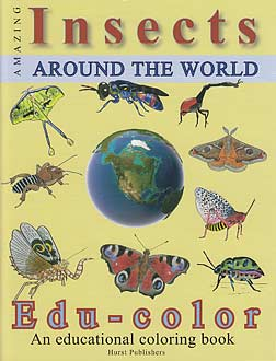 Insects Around the World - Coloring Book