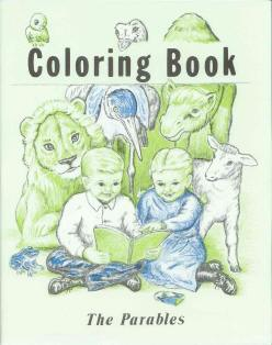 The Parables - Bible Coloring Book