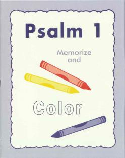Psalm 1 Coloring Book