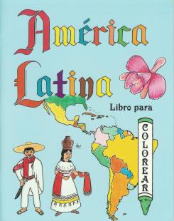 Amrica Latina Libro para Colorear Latin America