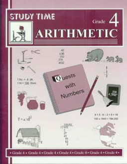 Grade 4 Study Time Arithmetic - Workbook