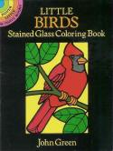Birds - Little Stained Glass Coloring Book