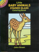 Baby Animals - Little Stained Glass Coloring Book
