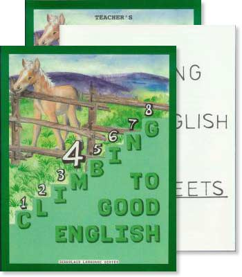 Grade 4 Climbing to Good English - Set