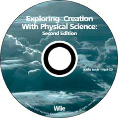 Grade 8 Apologia Physical Science (2nd Ed) MP3 Audio CD