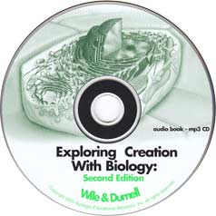 Grade 9 Apologia Biology (2nd Ed) MP3 Audio CD