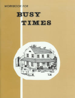 "Grade 2 Pathway ""Busy Times"" Workbook"
