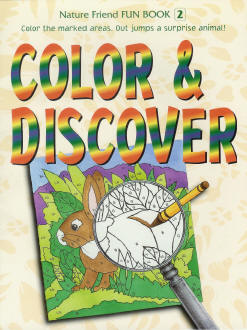 Fun Book 2: Color and Discover (color-by-number coloring)