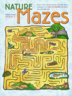 Fun Book 4: Nature Mazes