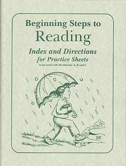 Grade 1 BSR - Practice Sheets Index and Directions