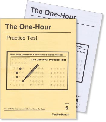 Grade 5 - The One-Hour Practice Test - Test Preparation