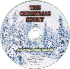 The Christmas Story in Word and Music - Audio CD