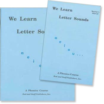 We Learn Letter Sounds - Set