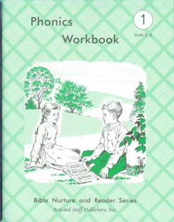 Grade 1 Phonics Workbook Units 2,3
