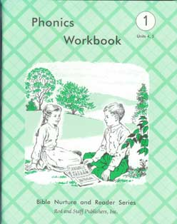 Grade 1 Phonics Workbook Units 4,5