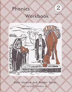 Grade 2 Phonics Workbook Units 2,3