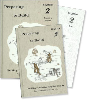 "Grade 2 English ""Preparing to Build"" Set"