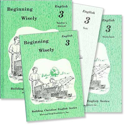 "Grade 3 English ""Beginning Wisely"" Set"