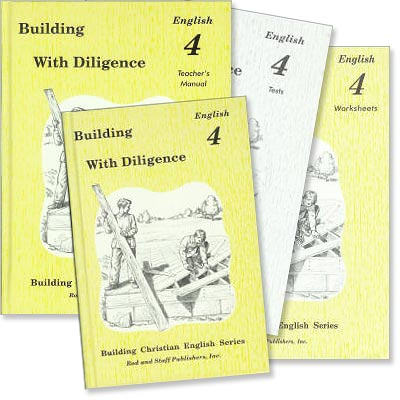 "Grade 4 English ""Building With Diligence"" Set"